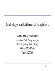 Multi-stage and Differential amplifiers.pdf
