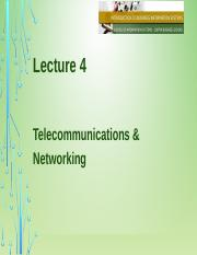 Lecture 4 Telecommunication and Networking.pptx