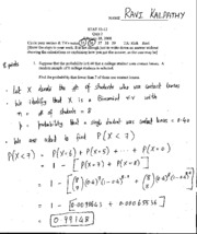 STAT 053.12 - Solutions to Quiz 2