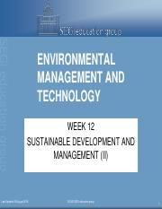 week 12 sustainable development and management (II).pdf