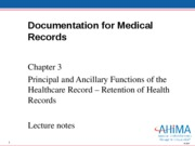 Odom_Ch_3 Retention of Health Records.lecture notes