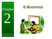 Chapter 2 - E-Business