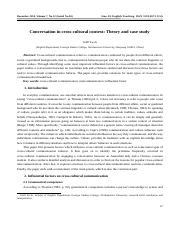 Conversation in cross-cultural context Theory and case study.pdf