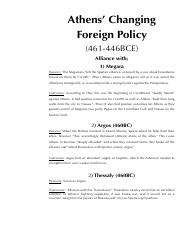 7 - Athens changing foreign policy