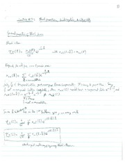 PHYS 507 Lecture 4 Notes