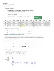 Dropbox Assignment #2 HINTS and SAMPLE QUESTIONS (1)