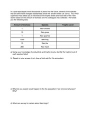Worksheets Trophic Levels Worksheet biol 121 university of british columbia course hero 1 pages trophic level worksheet