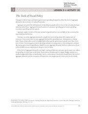 Fiscal policy ws 2