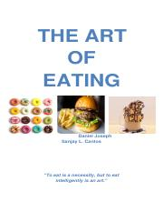 THE-ART-OF-EATING.docx