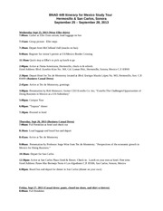 BNAD 449-Mexico Study Tour Itinerary Sept 2013(2)