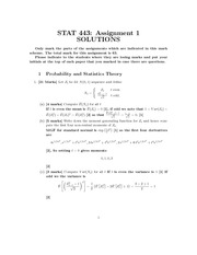STAT 443 assignment1solutions
