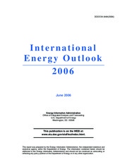international energy outlook 2006