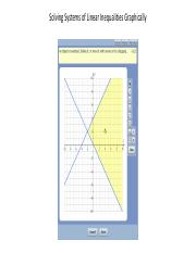 Graphing Systems of Linear Inequalities in MyMathLab