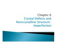 MEC 300-Materials Science Chapter 6