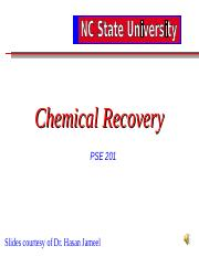 Chemical Recovery 2016 with Voice-over