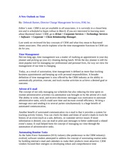 CRM Article #3- Time Management_RJ_28Nov06