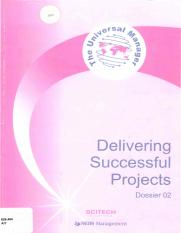 Delivering Successful Projects