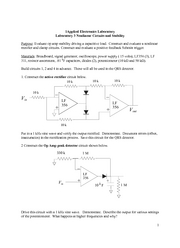 Laboratory 3 Rev Stability and Nonlinear