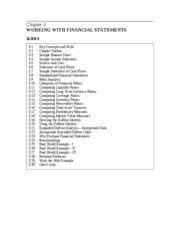 IM Chapter 3 Working with Financial Statements