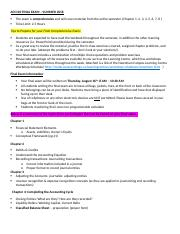 ACC120 FINAL EXAM TOPIC OUTLINE Summer 2018 (1).docx