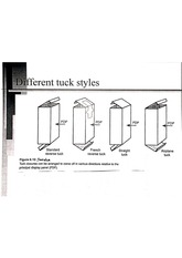 Paperboard Tuck Styles Labeled