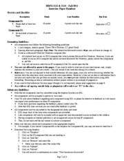 HDFS 2113 & 2114 Interview Paper Handout Fall 2011 072911
