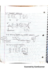 Inverse Matrices Notes