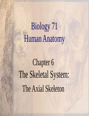 Ch 6 Axial  Skeleton.ppt