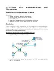 UCCN1004_-_Lab_03_-_Server_Configuration_and_IP_Subnets.doc