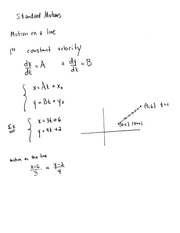 Standard Motion  Linear and Circular