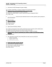 ICS300ExamAnswerKey_October2013 - ICS-300 Intermediate ICS for