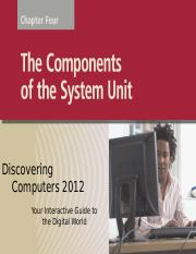 Ch 4 - The Components of the System Unit(GN)
