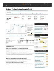 United Technologies Corp (UTX.N) Quote.pdf