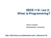Lecture 2_What is Programming