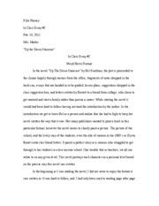 in class essay     kilie rainey in class essay   feb        in class essay     kilie rainey in class essay   feb     mrs  marler
