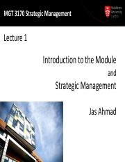 MGT 3170 Lecture 01 - Intro