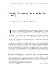 FIN4651 Module9 Reading1 - Why Do Developing Countries Tax So Little.pdf