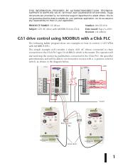 GS1 drive control using MODBUS with a Click PLC.pdf