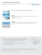 [BOOK] Persistent Forecasting of Disruptive Technologies