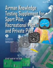 Airman Knowledge Testing Supplement