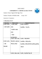 Report Expt. 1_Chemical Reactions