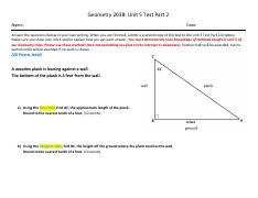 203B Unit 5 Test_Part 2