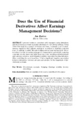 12.PW056_SFAS133_does the use of fianncial derivatives affect earnings management decisions
