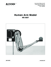 PASCO Human Arm Model - Manual, Experiments, Solutions
