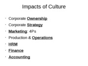 Culture's Impact on Business Functions3
