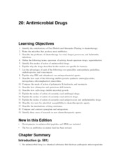 TFC9_IG_Chap20 antimicrobial drugs