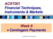 ACST201 Week 8 Lecture