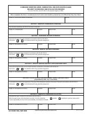 DA FORM 705 - NAME(Last First MI Army Physical Fitness Test ...