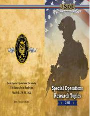 2016_SpecialOperationsResearchTopics_final