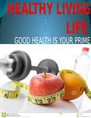 HEALTHY LIVING LIFE.pptx